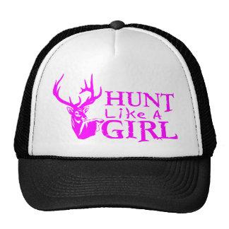 HUNT LIKE A GIRL TRUCKER HAT