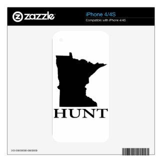 Hunt Minnesota iPhone 4 Decal