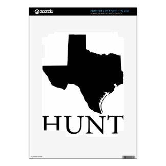 Hunt Texas iPad 3 Skins