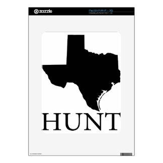 Hunt Texas iPad Decals