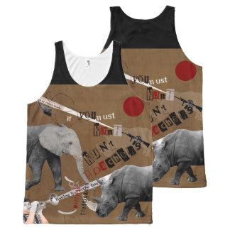 Hunt Wildlife Poachers All-Over-Print Tank Top