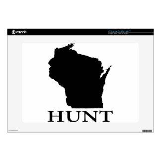 Hunt Wisconsin Laptop Decal