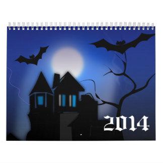 Hunted House Calendar