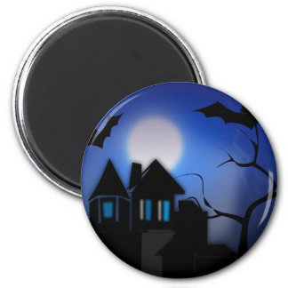 Hunted House Magnet