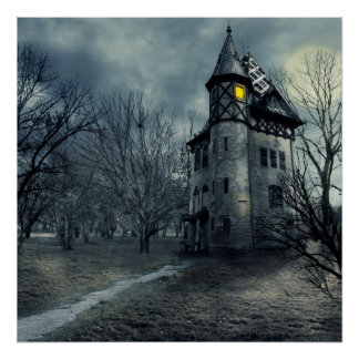 Hunted house poster