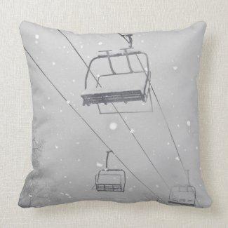 Hunter 3 throw pillows
