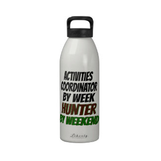 Hunter Activities Coordinator Reusable Water Bottle