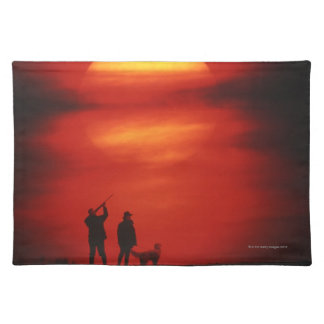 Hunter and Dog Placemat