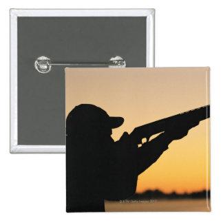 Hunter and Gun Button