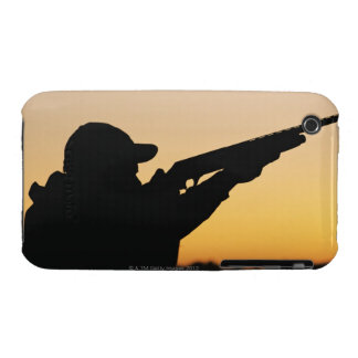 Hunter and Gun iPhone 3 Case-Mate Cases