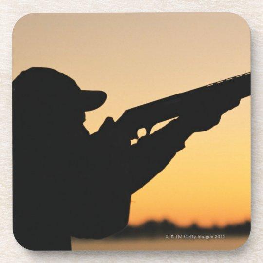 Hunter and Gun Drink Coaster