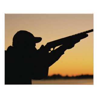 Hunter and Gun Print