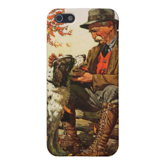 Hunter and Spaniel Case For iPhone SE/5/5s
