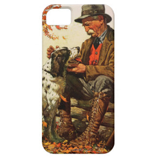 Hunter and Spaniel iPhone SE/5/5s Case