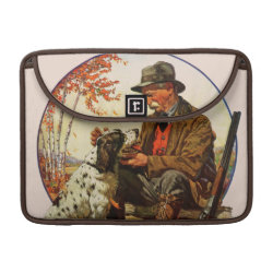 Macbook Pro 13' Flap Sleeve with Springer Spaniel Phone Cases design