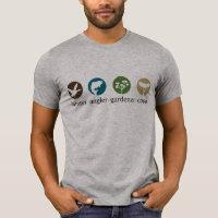Hunter Angler Gardener Cook T-shirt