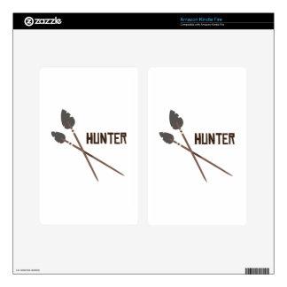 Hunter Arrow Kindle Fire Decal