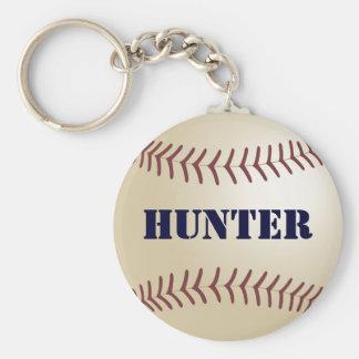 Hunter Baseball Keychain by 369MyName
