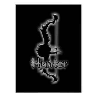 hunter bow poster
