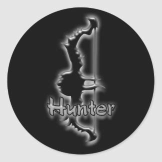 hunter bow stickers