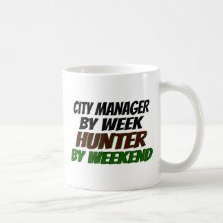 Hunter City Manager Classic White Coffee Mug