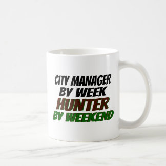 Hunter City Manager Coffee Mug