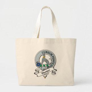 Hunter Clan Badge Large Tote Bag