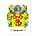 Hunter Coat of Arms (Family Crest) Post Card