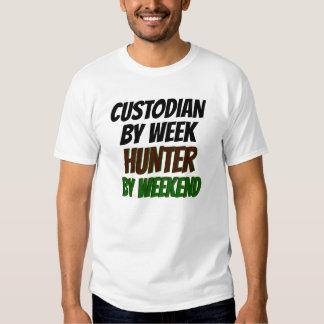 Hunter Custodian Tee Shirts