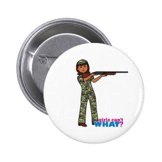 Hunter - Dark Pinback Button