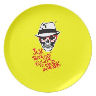 Hunter Dead Thompson plate