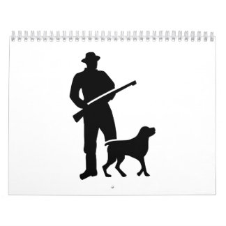 Hunter dog calendar