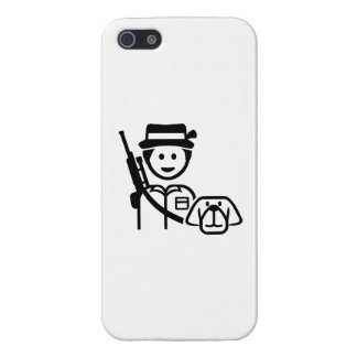 Hunter dog icon cover for iPhone 5