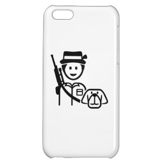 Hunter dog icon iPhone 5C cover