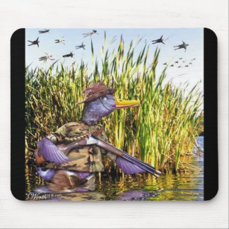 Hunter Duck mouse pad