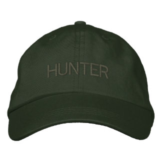 HUNTER EMBROIDERED HAT