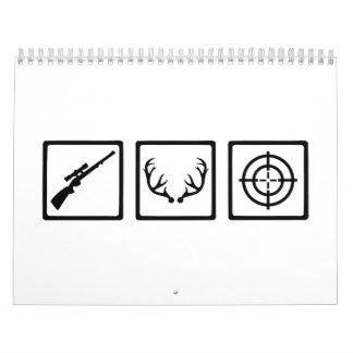 Hunter equipment calendar