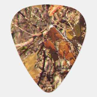Hunter Forest Camouflage Painting Customize This Guitar Pick
