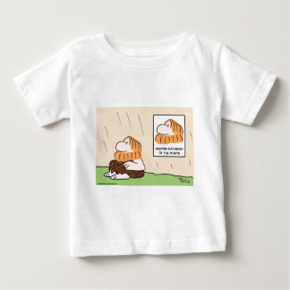 hunter gatherer month caveman baby T-Shirt