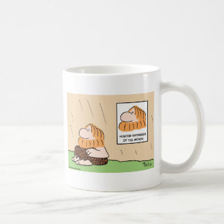 hunter gatherer month caveman coffee mug