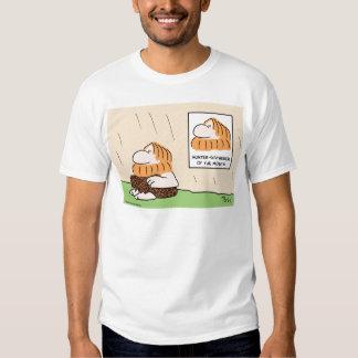 hunter gatherer month caveman shirts