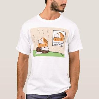 hunter gatherer month caveman T-Shirt