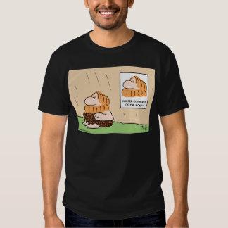 hunter gatherer month caveman tshirts