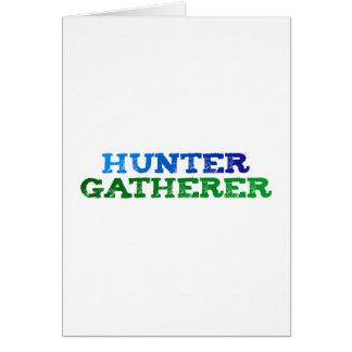 hunter gatherer felicitaciones