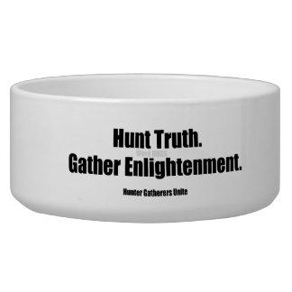 Hunter Gatherers Unite Pet Bowl