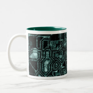 Hunter Green Coming Out Two-Tone Coffee Mug