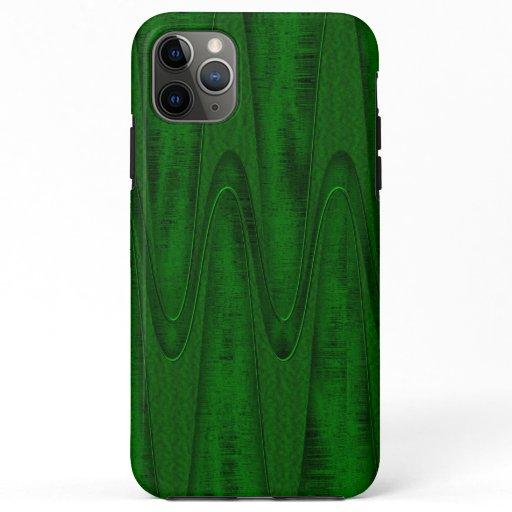Hunter Green Design iPhone 11 Pro Max Case