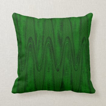 Hunter Green Design Pillow