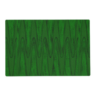 Hunter Green Design Placemat