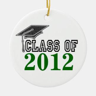 Hunter Green Graduating Class of 2012 Ornament